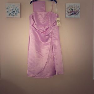 Pink short dress sized XXL